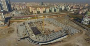 22 bin seyirci kapasiteli Eryaman Stadı hızla inşa ediliyor!