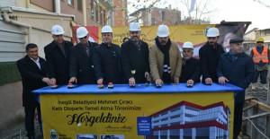 İnegöl Mehmet Çıracı Katlı Otoparkı'nın temeli atıldı!