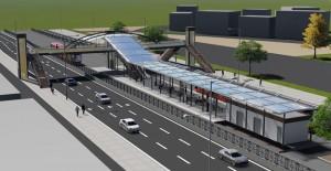 Kent Meydanı-Terminal tramvay hattı caddeye estetik bir görüntü katacak!