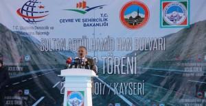 Kayseri Melikgazi Abdülhamid Han Bulvarı açıldı!