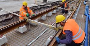 Konak ve Karşıyaka tramvay hattı yapımı hızla sürüyor!