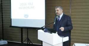 Başkan Çelik, 2017 yılında yapılacak yatırımları anlattı!