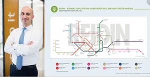 İşte İstanbul'un metro, metrobüs ve tramvay hatlarında konut fiyatları!
