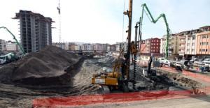 Ordu 311 Konutluk Toplu Konut Projesi'nde bir bloğun kaba inşaatı bitti!