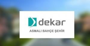 Bahçeşehir'e 499 konutluk yeni proje; Dekar Asmalı Bahçe Şehir