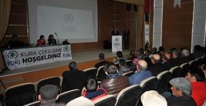 TOKİ Ardahan kentsel dönüşüm projesinin kurası çekildi!