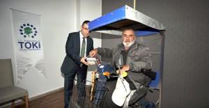 TOKİ Sivas engelli konutlarının kurası çekildi!