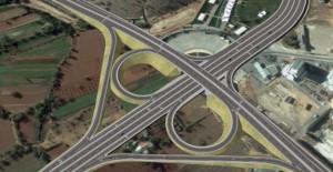 Gaziantep Yeşilvadi Köprülü Kavşak Projesi'nin inşaatı başladı!
