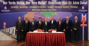 İşte İstanbul'un iki yeni metro hattı!