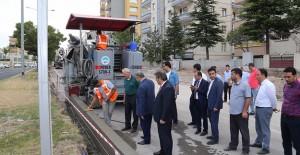 Kayseri Talas'da altyapı çalışmaları devam ediyor!