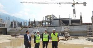 Türkiye'nin en büyük spor kompleksi Yıldırım'da inşa ediliyor!
