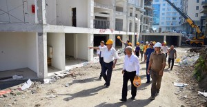 Başkan Gökhan 'İsmetpaşa kentsel dönüşüm projesini inceledi'!