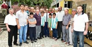 Başkan Edebali, Teferrüç Kentsel Dönüşüm Projesi'ni anlattı!