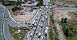 Manisa Gediz Kavşağı yenilenerek trafiğe açıldı!
