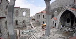 Trabzon Kızlar Manastırı restorasyon çalışmaları bitiyor!