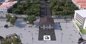 Afyon Cumhuriyet Meydanı Projesi'nde 1. Etap çalışmaları başladı!
