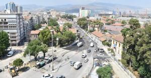 İzmir Konak Tramvayı'nda Ziya Gökalp Bulvarı çalışları başlıyor!