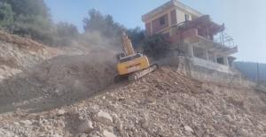 Kahramanmaraş Kuzey Çevre Yolunda kamulaştırılan evler yıkılıyor!