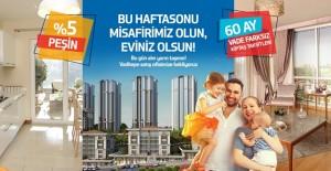 Vaditepe Bahçeşehir'de vade farksız kampanya!