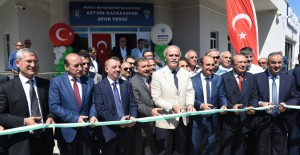 Yıldırım Artvin Kafkasspor Spor Tesisleri açıldı!
