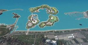 Manzara 7/24'ün karşısına su sporları adası geliyor!