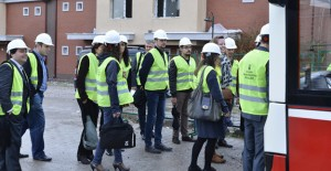 Yurtdışından gelen iş ortakları ''Yaşam Köyü''nü inceledi!