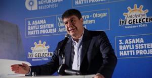 Antalya 3'üncü etap raylı sistem projesine 700 milyon liralık yatırım!