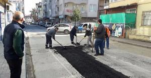 Gölcük Belediyesi asfaltlama çalışmalarına devam ediyor!