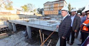 İstanbul Bağcılar'da yeni belediye binasının inşaatı devam ediyor!