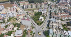Torbalı'da eski binalar tek tek modern binaya dönüşüyor!