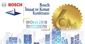 Bosch İnşaat ve Konut Konferansı 9 Ocak'ta yapılacak!