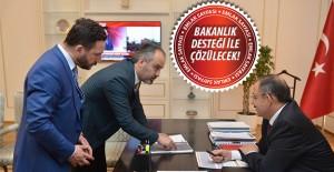 Bursa'nın kentsel dönüşüm süreci Bakan Özhaseki ile görüşüldü!