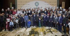Eminevim Konya'da 132 aileye tapularını teslim etti!