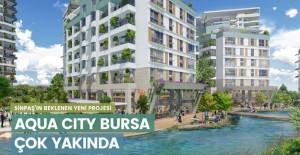 Sinpaş Aqua City Bursa daire fiyatları!