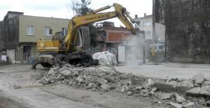 Osmangazi Geçit Mahallesi'nde kaçak yapılan inşaat yıkıldı!