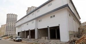 Şehitkamil Seyrantepe Ticaret Merkezi çalışmaları devam ediyor!