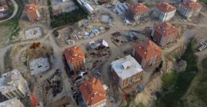TOKİ Denizli Sarayköy'de 20 bloktan 17'sinin kaba inşaatı tamamlandı!