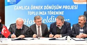 Üsküdar Kirazlıtepe kentsel dönüşüm için toplu imza töreni düzenlendi!