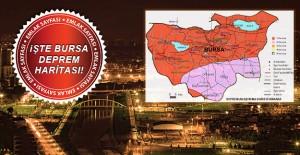 AFAD Bursanın Yeni Deprem Haritasını...