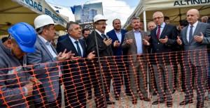 Altındağ Önder Mahallesi kentsel dönüşüm kapsamında yapılacak yeni binanın temeli atıldı!