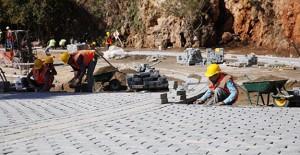 Antalya Konyaaltı sahil projesi çalışmaları hızla devam ediyor!