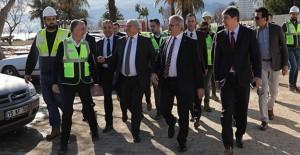 Antalya Valisi Münir Karaloğlu Konyaaltı Sahil projesi çalışmalarını inceledi!
