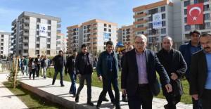 Başkan Turan, Diyarbakır TOKİ projelerini inceledi!