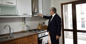 Başkan Turan, Kayaşehir TOKİ konutlarını tanıttı!