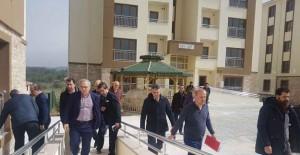Başkan Turan, Muğla TOKİ projelerinin inşaatlarında incelemelerde bulundu!