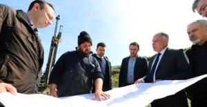 Başkan Bakıcı, TOKİ İzmir Selçuk projesinin yükseleceği alanı inceledi!