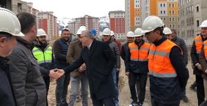 Başkan Turan, Palandöken kentsel dönüşüm projesi çalışmalarını inceledi!