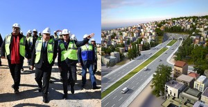 İzmir Büyükşehir Belediyesi kentin en uzun karayolu tünelini kazmaya başladı!