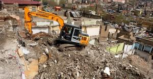 Kahramanmaraş Tekke kentsel dönüşüm projesi kapsamında yıkımlar devam ediyor!