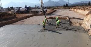Kepez Santral kentsel dönüşüm projesinde ilk beton döküldü!